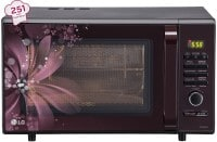 LG MC2886BRUM 28 L Convection Microwave Oven (Black)