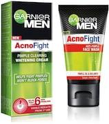 Garnier Men Acno Fight Anti-Pimple Face Wash (Pack of 2)