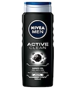 Nivea Men Active Clean Shower Gel (500ML, Pack of 6)