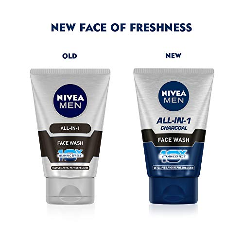 Nivea Men All-In-1 10X Whitening Effect Face Wash (100GM)