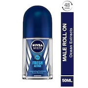 Nivea Men Fresh Active Roll On Deodorant (50ML)