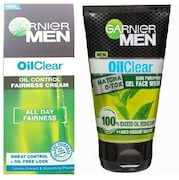 Garnier Men Oil Clear Deep Cleansing Face Wash (Pack of 2)