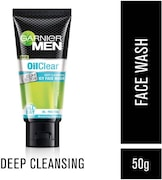Garnier Men Oil Clear Matcha D-Tox Face Wash (50GM)