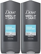 Dove Men+ Care Body & Face Wash (383GM, Pack of 2)