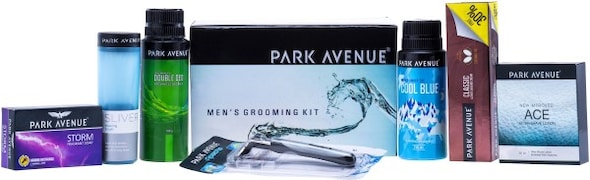 Park Avenue Mens Grooming Kit (Pack of 7)