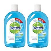 Dettol Menthol Cool Disinfectant Liquid (500ML, Pack of 2)