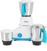 Billion MG110 550 W Mixer Grinder (Blue & White, 3 Jars)
