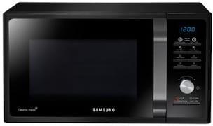 Samsung MG23F301TCK/TL 23 L Grill Microwave Oven (Black)