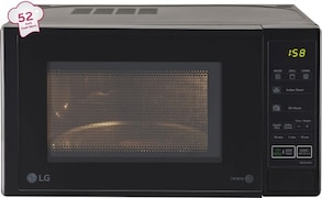 LG MH2044DB 20 L Grill Microwave Oven (Black)
