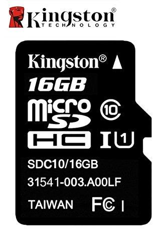 Kingston 16GB MicroSD Class 4 Memory Card