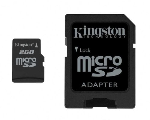 Kingston 2GB MicroSD Memory Card