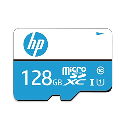 HP 128GB MicroSD Class 10 Memory Card
