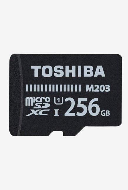Toshiba 256GB MicroSDXC Class 10 Memory Card (Black)