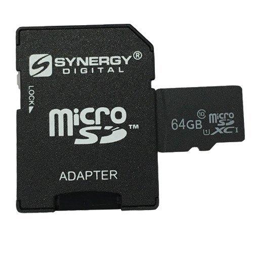 Synergy Digital 64GB MicroSDXC Pro Memory Card