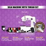 Adonai Mini Electric Sewing Machine (White)