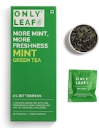 Onlyleaf Mint Green Tea (54GM, 27 Pieces)