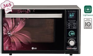 LG MJ3286BRUS 32 L Charcoal Convection Microwave Oven (Black)