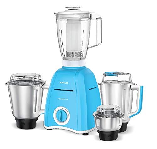 Havells Momenta 750W Mixer Grinder (Blue, 4 Jar)