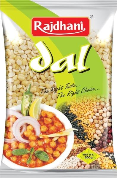 Rajdhani Moong Dal (Yellow, 500GM)