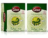 Gtee Moringa and Amla Green Tea (77GM, Pack of 2, 25 Pieces)