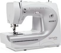 Bernette Moscow 7 Computerised Sewing Machine (White)