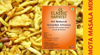 Classic Harvest Mota Masala Mixture Namkeen (200GM)