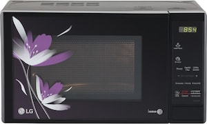 LG MS2043BP 20 L Solo Microwave Oven (Black)