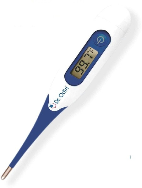 Dr. Odin MT-4333 Flexi Digital Thermometer (Blue & White)