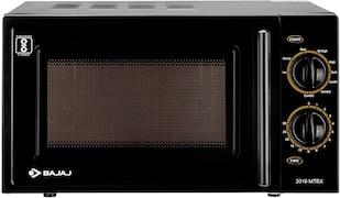 Bajaj MTBX 2016 20 L Grill Microwave Oven (Black)