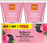 VLCC Mulberry & Rose Face Wash (Pack of 3)