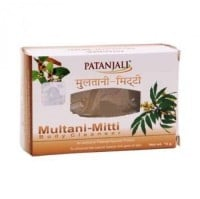 Patanjali Multani Mitti Body Cleanser Soap (75GM, Pack of 4)