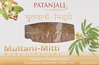 Patanjali Multani Mitti Body Cleanser Soap (75GM, Pack of 2)