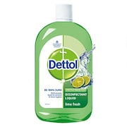 Dettol Multi-Purpose Lime Fresh Disinfectant Liquid (500ML, Pack of 2)