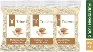 Trinetra Multigrain Flour (500GM, Pack of 3)