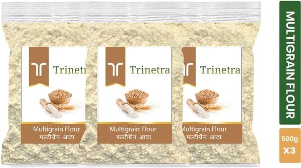 Trinetra Multigrain Flour (500GM, Pack of 3)