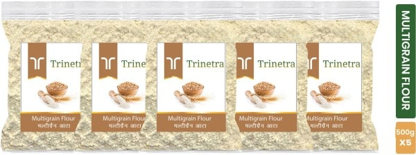 Trinetra Multigrain Flour (500GM, Pack of 5)