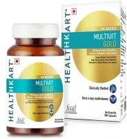 HealthKart Multivit Gold Capsules (90 PCS)
