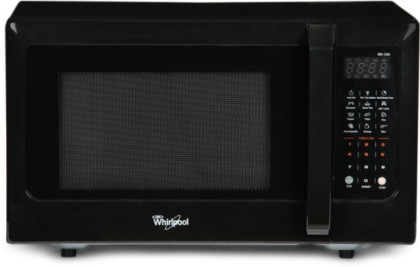 Whirlpool MW 25 BG 25 L Grill Microwave Oven (Black)
