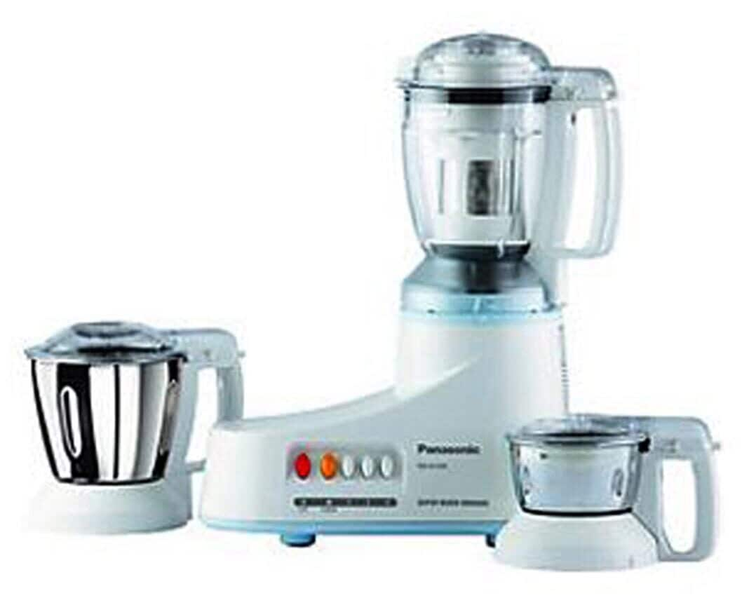 Panasonic MX-Ac350 550W Mixer Grinder (White, 3 Jar)