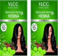 VLCC Natural & Herbal Henna (Orange, 300ML, Pack of 2)