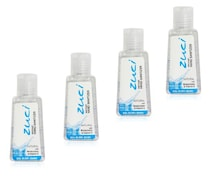 Zuci Natural Hand Sanitizer (30ML, Pack of 4)