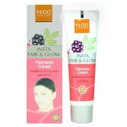 VLCC Natural Sciences Insta Fair & Glow Fairness Cream Mulberry & Licrorice With SPF 15 (4GM, Pack of 2)