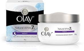 Olay Natural White Night Nourishing Repair Cream (50GM)