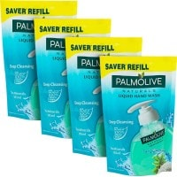 Palmolive Naturlas Liquid Hand Wash (185ML, Pack of 4)