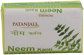 Patanjali Neem Kanti Body Cleanser (75GM, Pack of 12)