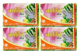 Patanjali Neem Kanti Body Cleanser (75GM, Pack of 4)