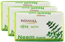 Patanjali Neem Kanti Body Cleanser (75GM, Pack of 3)