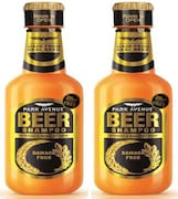 Park Avenue New Damage Free Beer Shampoo (370ML, Pack of 2)