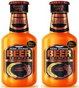 Park Avenue New Shiny and Bouncy Beer Shampoo (370ML, Pack of 2)