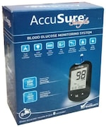Dr. Gene New Simple Glucometer (25 Strips, Multicolor)